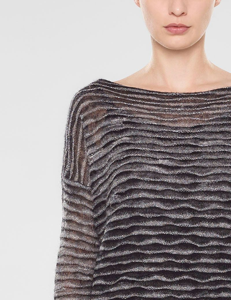 Sarah Pacini Loose fit long sweater