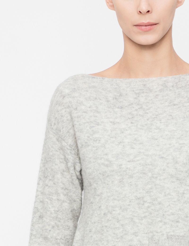 Sarah Pacini Chiné sweater - flared hem