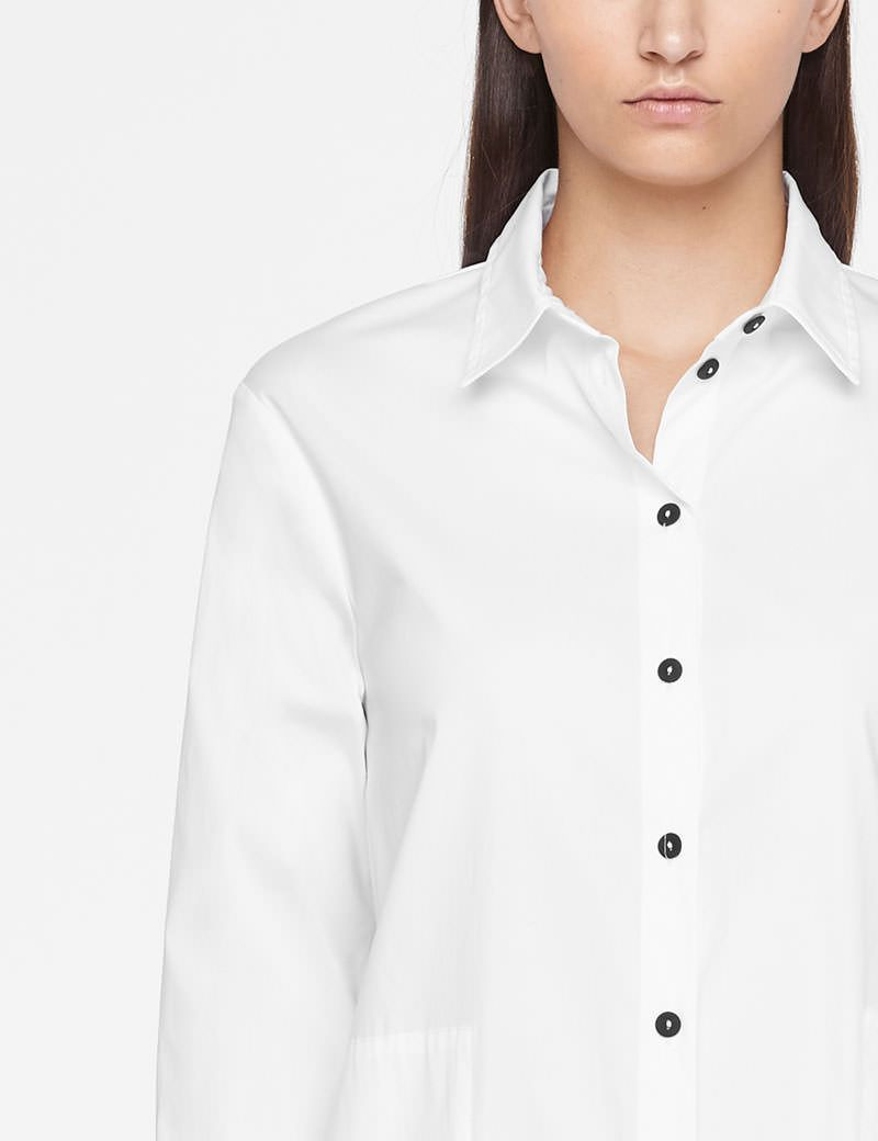 Sarah Pacini LONG SHIRT - SIDE SLITS