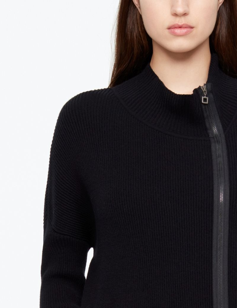 Sarah Pacini CARDIGAN - PATCH POCKET
