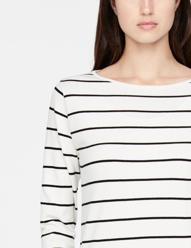 Sarah Pacini Long sweater - stripes
