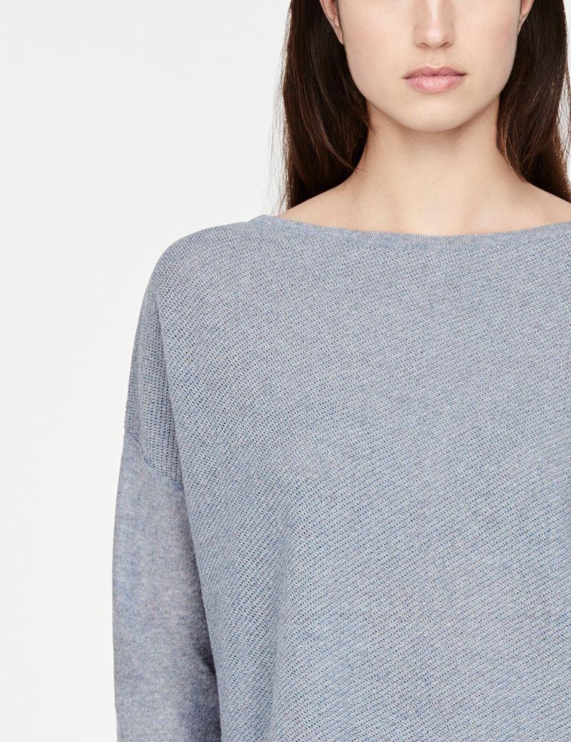 Sarah Pacini korte trui - gaatjes
