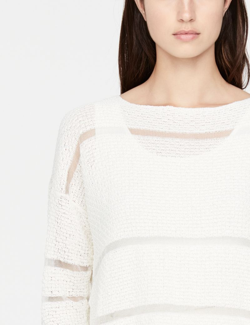 Sarah Pacini linnen trui - sterrensteek