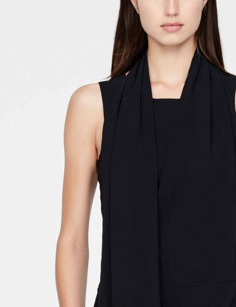 Sarah Pacini Maxi dress - scarf
