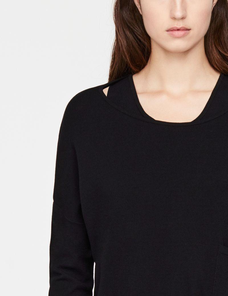 Sarah Pacini Cropped sweater - free time