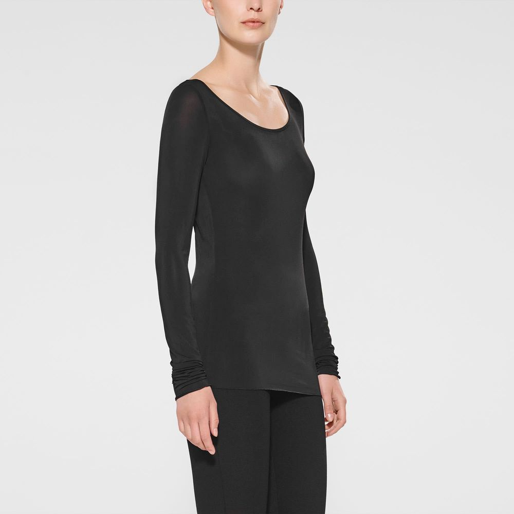 Sarah Pacini T-shirt met lange mouwen