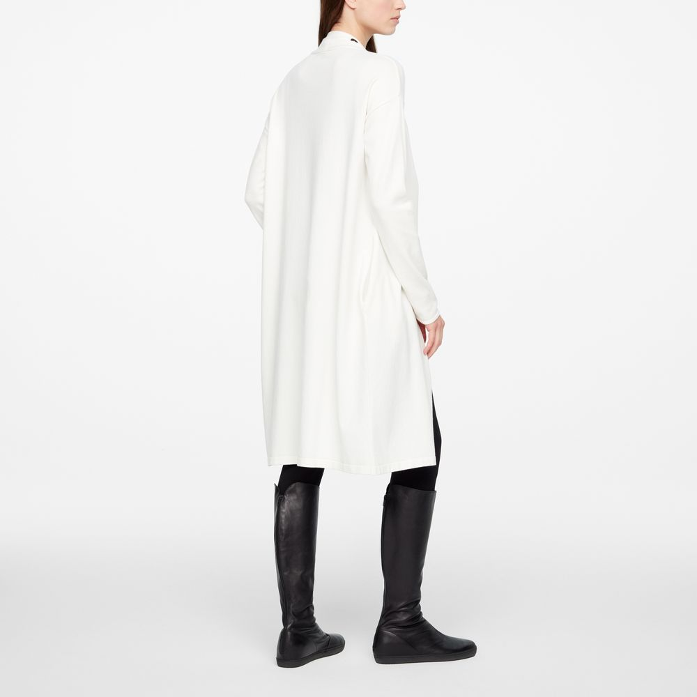 Sarah Pacini LONG CARDIGAN - CEINTURE DÉTACHABLE