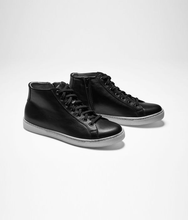 Sarah Pacini HIGH TOPS EN CUIR