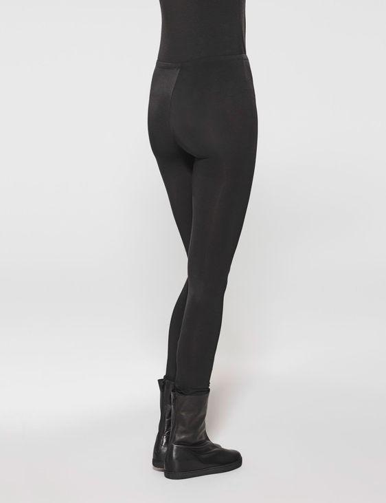 Sarah Pacini Lange baumwolle leggings