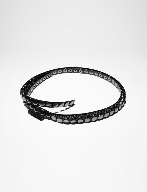 Sarah Pacini LEATHER BELT - STUDS