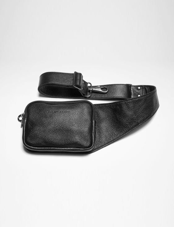 Sarah Pacini LEATHER BELT BAG