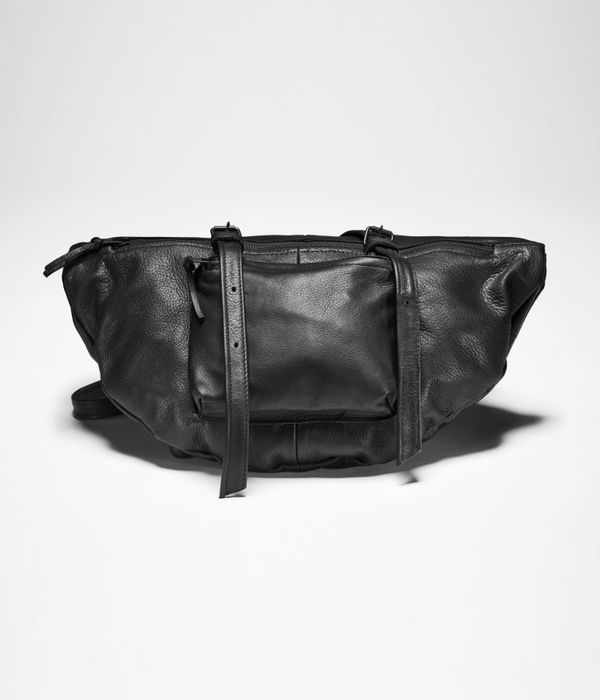 Sarah Pacini LEATHER SHOULDER BAG