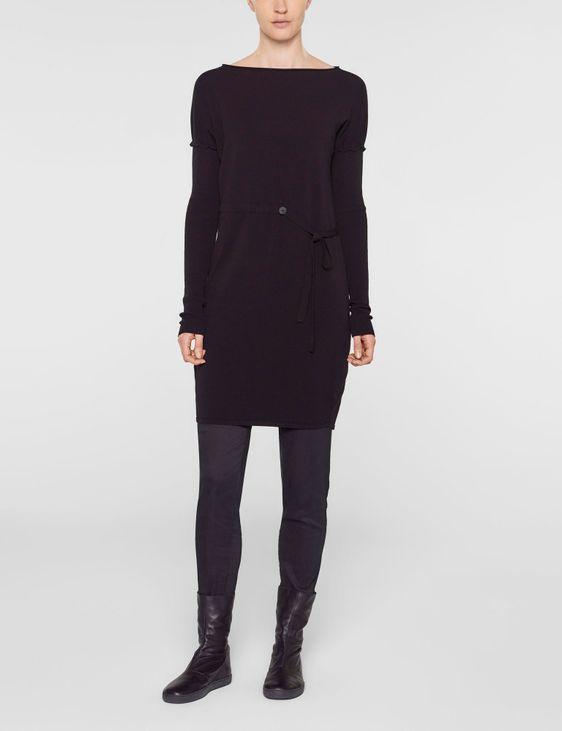 Sarah Pacini Lange trui met zachte riem