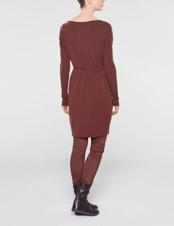 Sarah Pacini Pull long avec ceinture souple