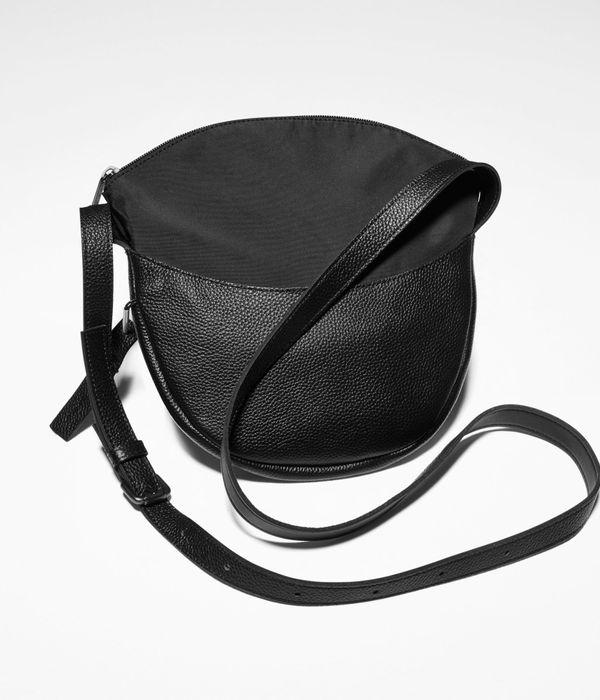 Sarah Pacini Leather hobo bag, small size