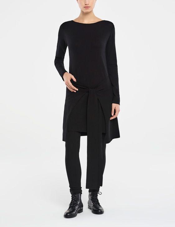 Sarah Pacini DRESS - ZIPPED PANEL