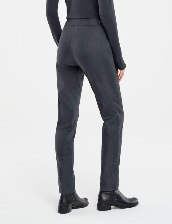 Sarah Pacini STRETCH LINEN PANTS