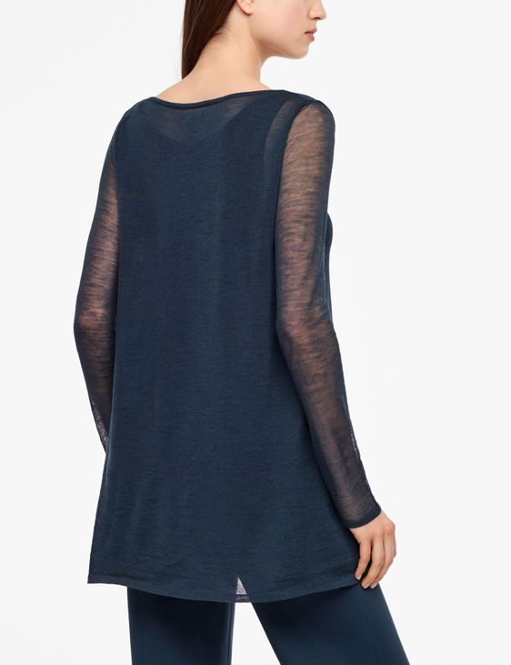 Sarah Pacini VEIL SWEATER - FULL SLEEVES