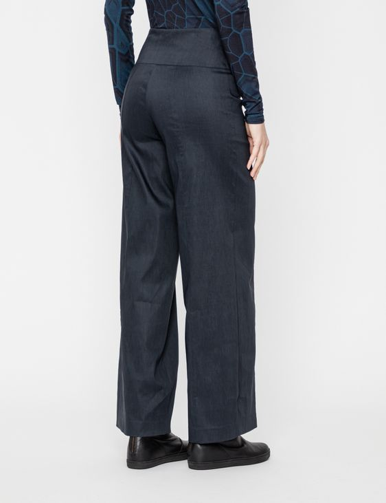 Sarah Pacini STRETCH LINEN PANTS - MAÏTE