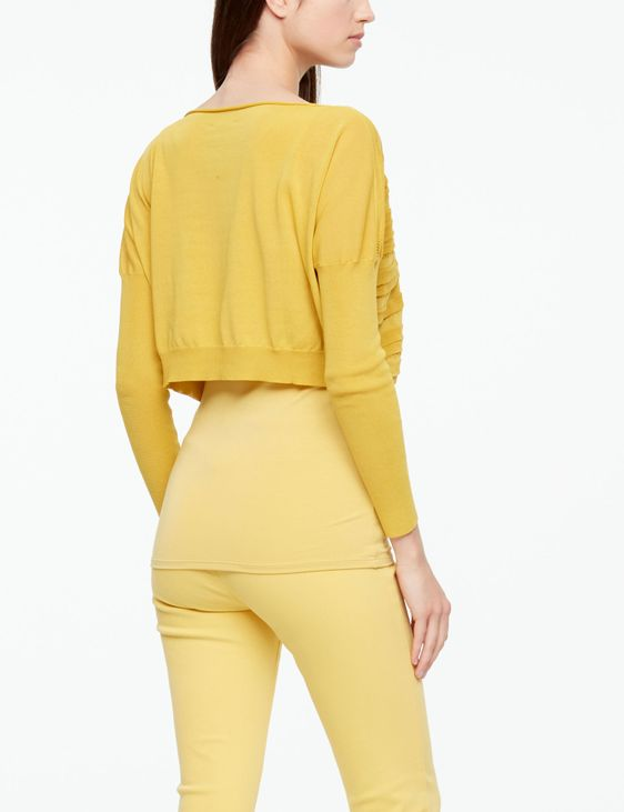 Sarah Pacini PULLOVER - MAKO COTTON CROPPED