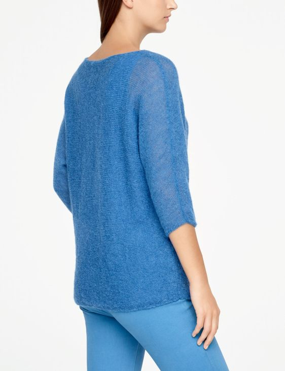 Sarah Pacini MOHAIR SWEATER - HALF SLEEVES