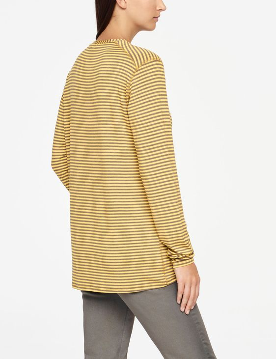 Sarah Pacini STRIPED TOP - FULL SLEEVES