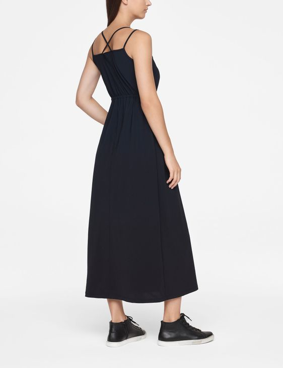Sarah Pacini MAXI DRESS - DRAWSTRING