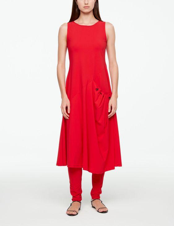 Sarah Pacini MAXI DRESS - TECHNO FABRIC