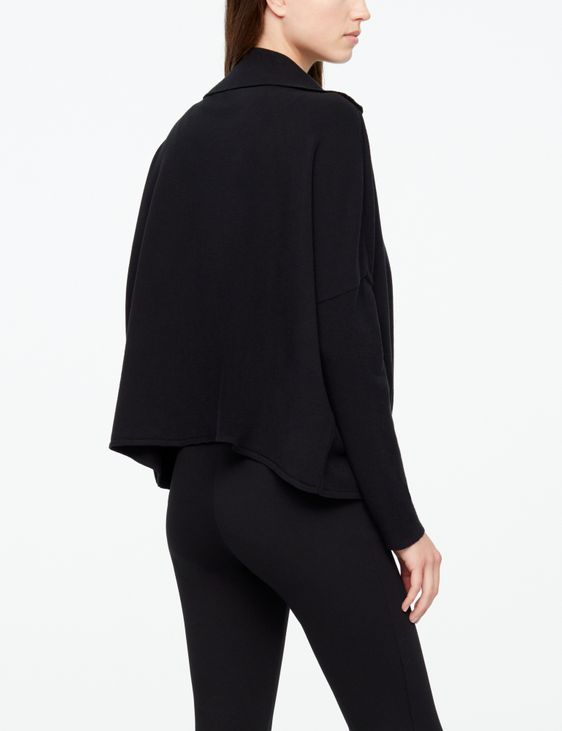 Sarah Pacini CARDIGAN - RIBBED SLEEVES