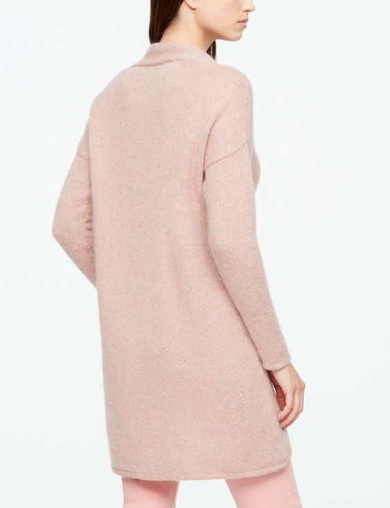 Sarah Pacini LONG CARDIGAN - BRILLIANT DETAILS