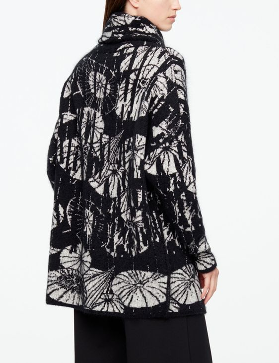 Sarah Pacini FULL-SLEEVE CARDIGAN - UMBRELLAS