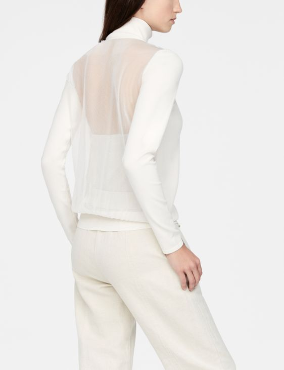 Sarah Pacini Cardigan - sheer back