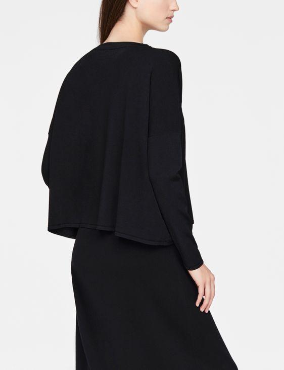 Sarah Pacini Leichter Pullover - V-Ausschnitt
