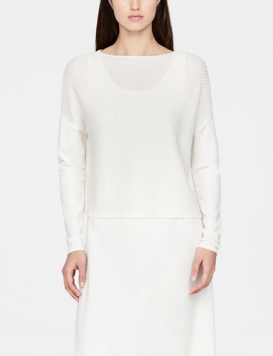 Sarah Pacini Mosaic sweater - cropped