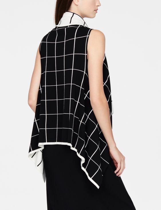 Sarah Pacini lichte cardigan - zonder mouwen