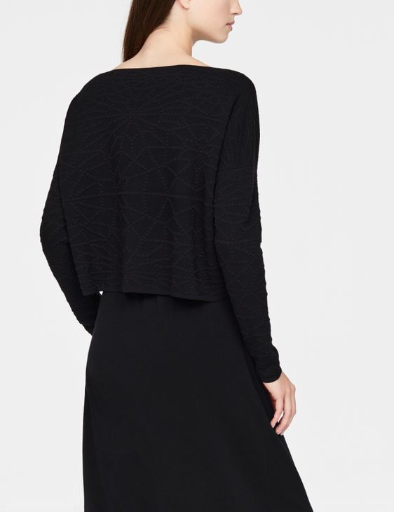 Sarah Pacini Cropped sweater - starburst