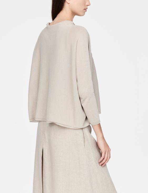 Sarah Pacini Pull coton mako - manches ¾
