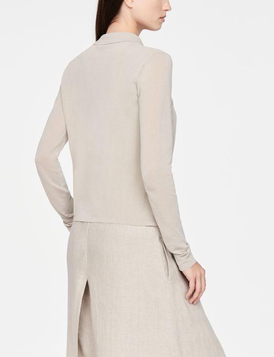 Sarah Pacini Mako cotton shirt