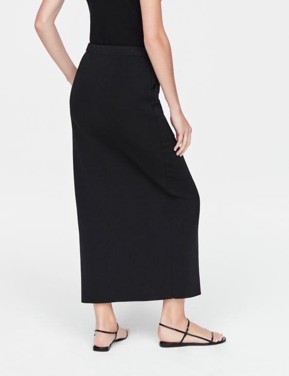 Sarah Pacini Mako cotton skirt - slit