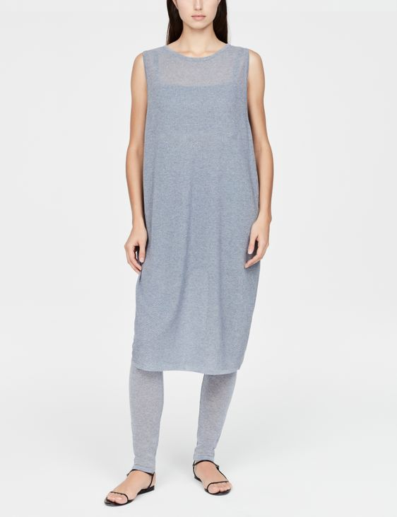 Sarah Pacini Robe midi - perforations