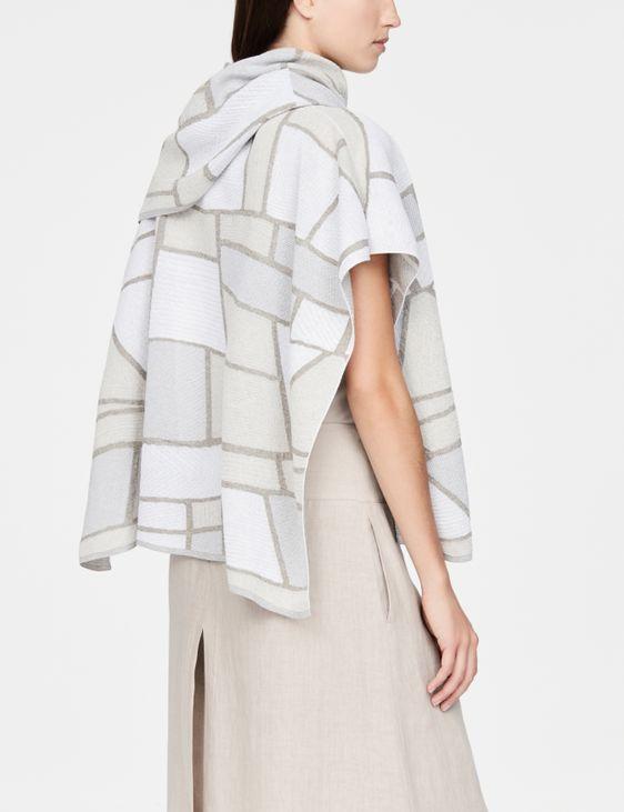 Sarah Pacini Poncho en coton - paysage