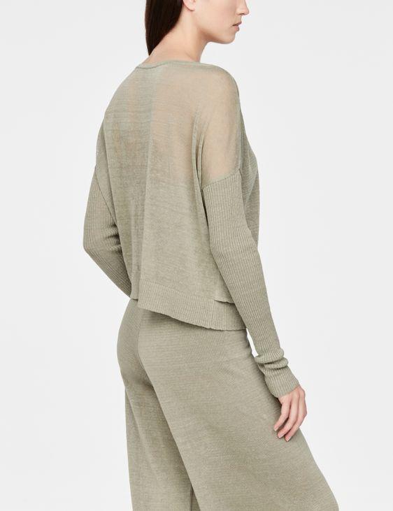 Sarah Pacini Linen sweater - layered
