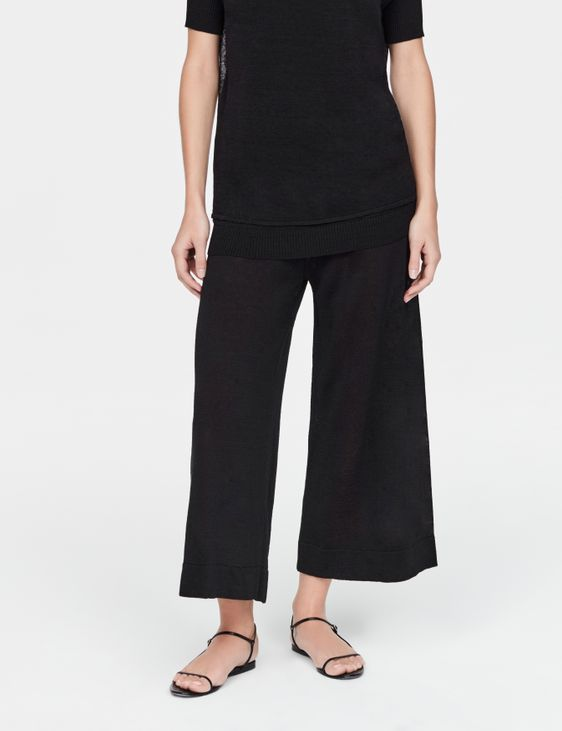 Sarah Pacini Linen pants - sheer