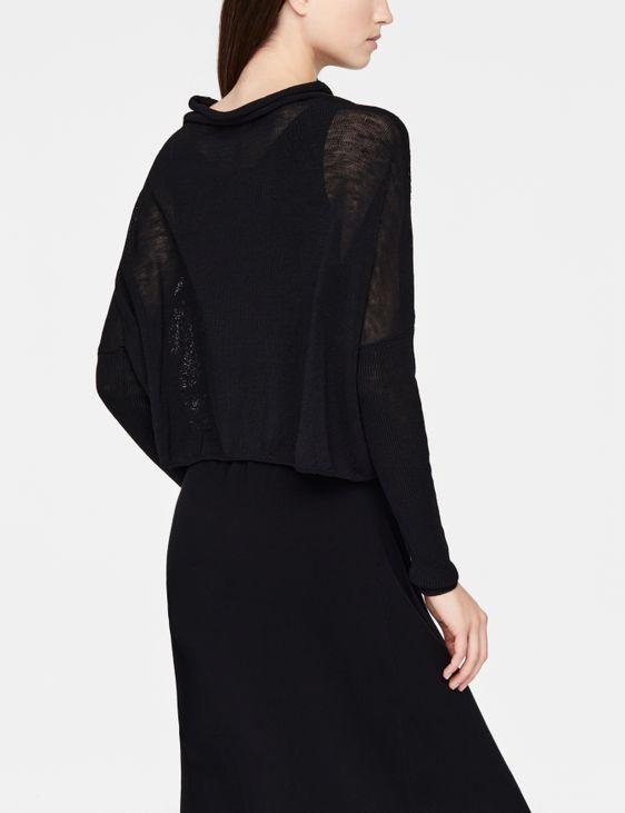Sarah Pacini Linen sweater - mandana