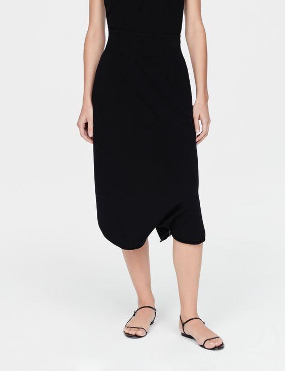 Sarah Pacini Jupe légère - Ourlet zippé