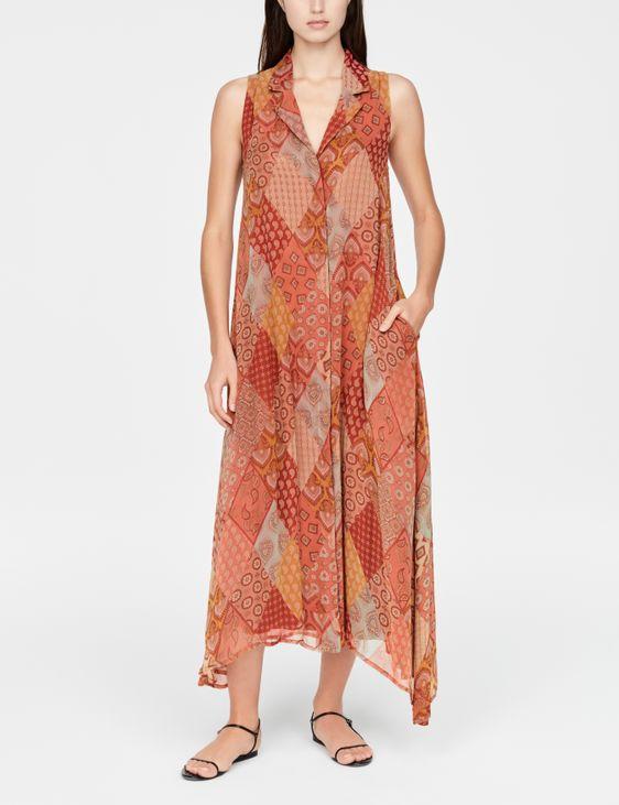 Sarah Pacini Robe maxi - patchwork