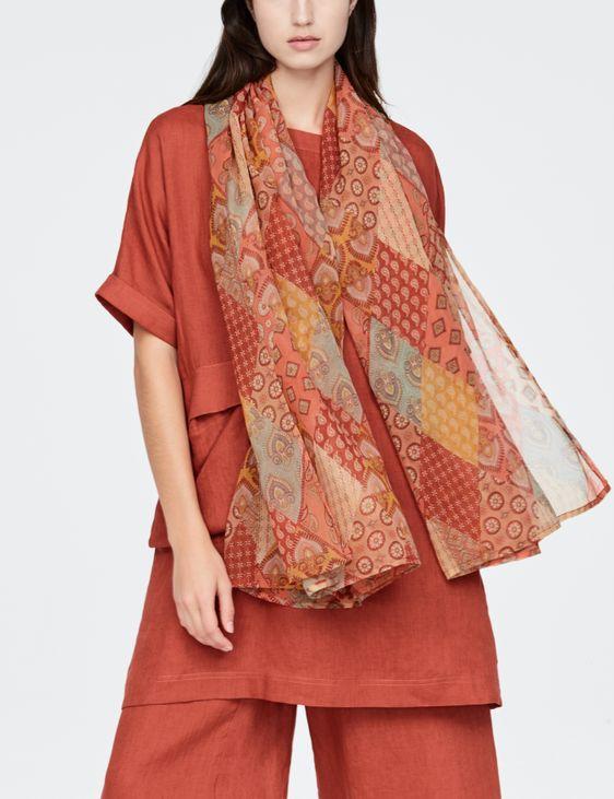 Sarah Pacini Grand foulard - patchwork