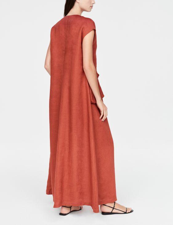 Sarah Pacini Linen dress - V-neck