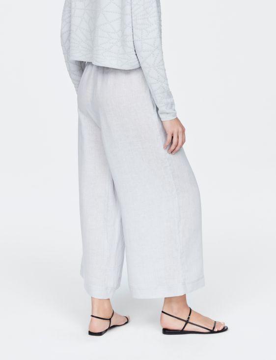 Sarah Pacini Pantalon en lin - palazzo
