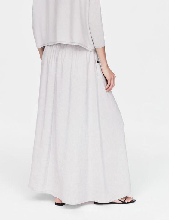 Sarah Pacini Jupe en lin - smocks
